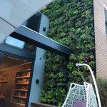 greenwall isolerend geluidsdempend in de tuin